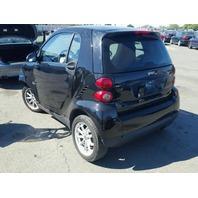 2009 SMART CAR CPE 2DR/BLACK FRONT DAMAGED FOR PARTS