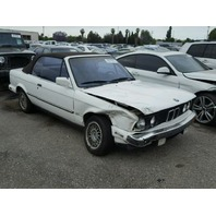 1991 BMW 325iC Convertible White Damaged Front