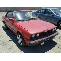 1990 BMW 325i Convertible Red