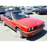 1991 BMW 318i Red Convertible