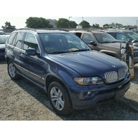 2006 BMW X5 Undercarriage Blue