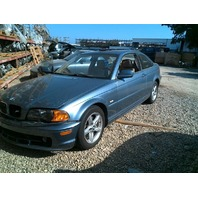 2001 BMW 325Ci Coupe Blue Damaged Right Front