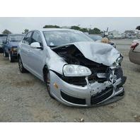 2006 Volkswagen Jetta Silver Damaged Front