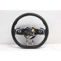 2015 Volkswagen Golf GTI Leather Red Stitch Steering Wheel