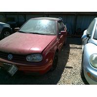 2002 VW Golf, convert, 2.0L, a/t, red