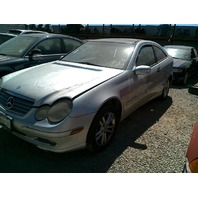 2002 Mercedes C230, 2dr, silver
