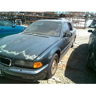 1997 BMW 740i, a/t, green