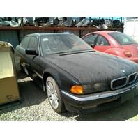 1997 BMW 750iL, 5.4L, a/t, black