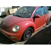2003 VW Beetle, 2.0L, a/t, red