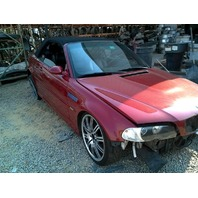 2002 Bmw M3 Red convertible Manual