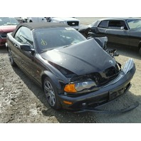 2001 BMW 325Ci Convertible Damaged Front