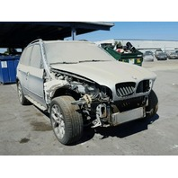 2013 BMW X5 Silver Damaged Front