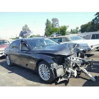 2009 BMW 750i Grey Damaged Front