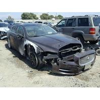 2013 Jaguar Xj Maroon 3.0L Automatic Sedan Damage Fire