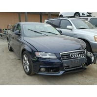 2009 Audi A4 Sedan Blue Damaged Front