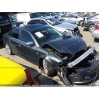2005 Audi S4 Sedan Grey Damaged Front