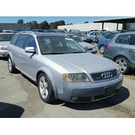2004 Audi Allroad Silver Mechanical Damage
