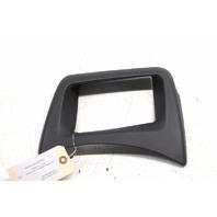 2006 2007 BMW 650i M6 Dashboard Display Trim Leather Black
