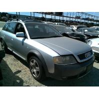 2001 Audi Allroad Wagon Silver