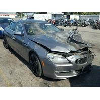 2013 Bmw 640I Sedan 3.0L Grey Burn