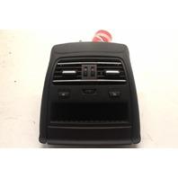 2013 BMW 640i Gran Coupe Sedan F06 Rear Center Console Vent Grille 64229157024