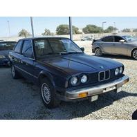 1987 BMW 325E 2 Door Blue