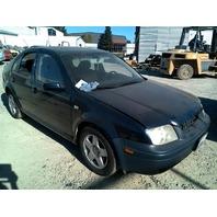 2000 Volkswagen Jetta Black Sedan