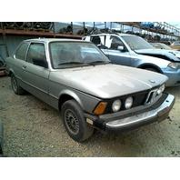 1982 BMW 320i 2 Door Green