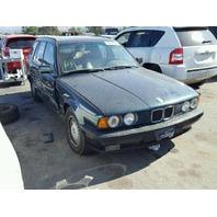 1994 BMW 525i Wagon Green Damaged Right Side