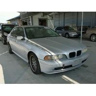 2001 BMW 530i Silver Sedan Damaged Right Side