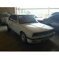 1991 BMW 318i Sedan White Theft