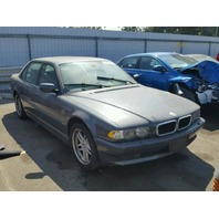 2001 BMW 740i Sedan Grey