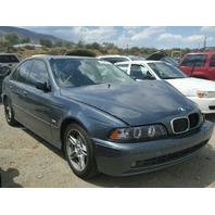 2001 BMW 540i Sedan Damaged Left Front