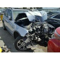 2005 BMW X3 Blue Damaged Front