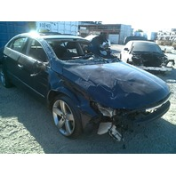 2012 Volkswagen CC Sedan Blue Damaged Front