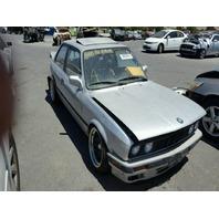1990 BMW 325i Silver Damaged Rear