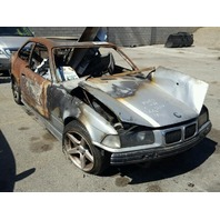 1999 BMW M3 Coupe Fire Damage