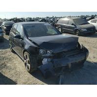 2009 Volkswagen Golf GTI 4 Door Damaged Front