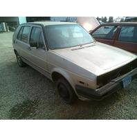 1986 Volkswagen Golf Gold 4 Door