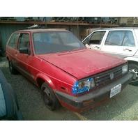 1991 Volkswagen Golf Red
