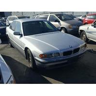 2000 BMW 740i Sedan Silver Damaged Left Front