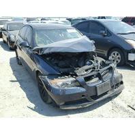 2007 BMW 328i Sedan Black Damaged Front & Rear