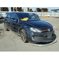 2012 Volkswagen Golf 2.0T Automatic Black