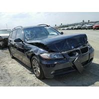 2007 BMW 328i Wagon Blue Damaged Front End
