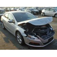 2009 Volkswagen CC Sedan Silver Damaged Front