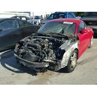 2001 Audi TT, Cpe, Red, fire