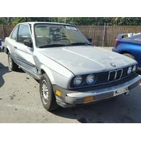 1984 BMW 318i 2 Door Silver Damaged Right Side