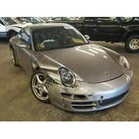 2006 Porsche 911 Coupe Silver Damaged Right Side