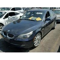 2008 BMW 535I, BLUE, LIGHT ENG FIRE