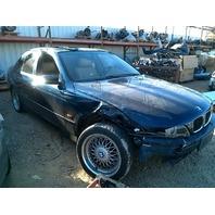 2000 BMW 528i Sedan Blue Damaged Right Front & Undercarriage